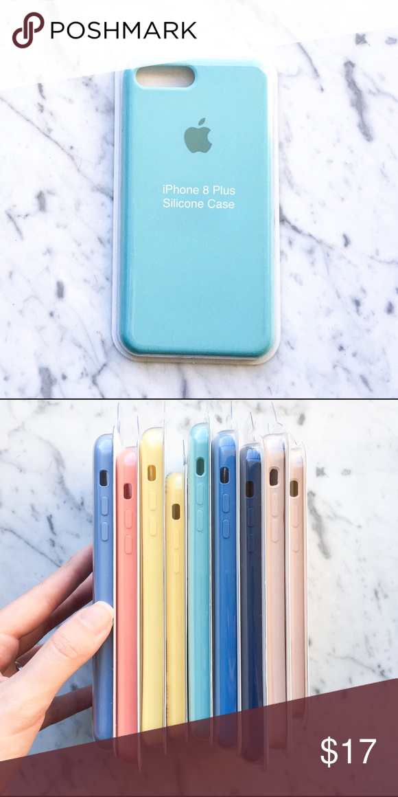 huge discount 9ee5f a87e3 NEW iPhone 7/8 Plus Silicone Case Sea Blue NEW iPhone 7/8 Plus ...