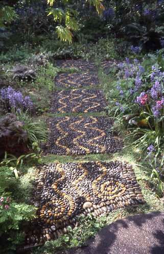 Jeffry Bale's mystical garden path | Garden design, Large ... on mythical garden designs, mystical waterfalls, mystical landscape, hypnotic garden designs, mystical roses, mystical fairy gardens, art garden designs, secret garden designs, simple garden designs, native american garden designs, modern garden designs, romantic garden designs, natural garden designs, celtic garden designs, inspiring garden designs, artistic garden designs, meditation garden designs, elegant garden designs, landscape garden designs, cosmic garden designs,