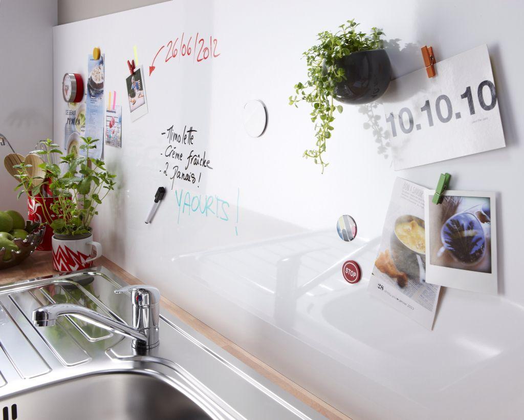 Tableau magnétique Leroy Merlin pour crédence de cuisine 15