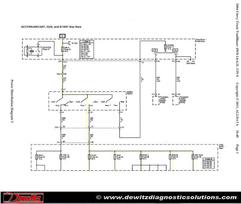 Burnt Ignition Switch Causes Trailblazer Electrical Issues | Chevy  trailblazer, Trailer wiring diagram, Chevrolet trailblazer | Chevrolet Trailblazer Spark Plug Wiring Diagram |  | Pinterest