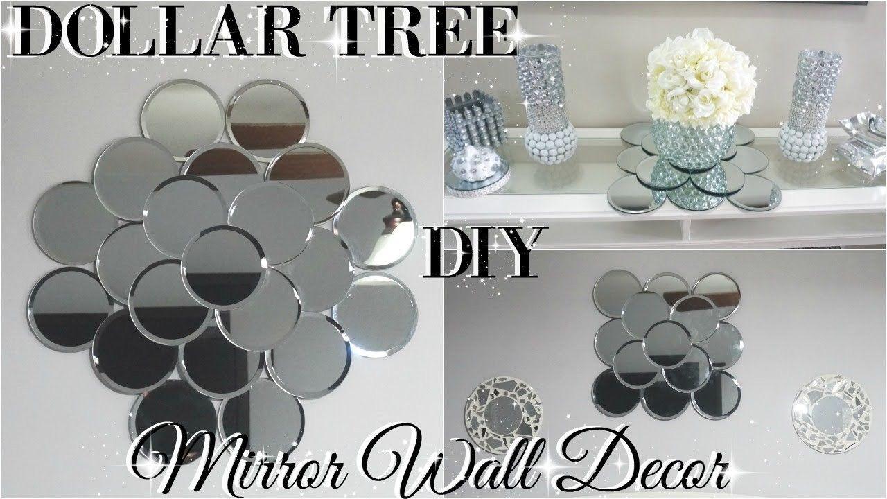 Diy Dollar Tree Mirror Wall Art Diy Dollar Store Glam Room Decor Pinterest Diy Dollar Tree Mirrors Dollar Store Diy Dollar Tree Diy