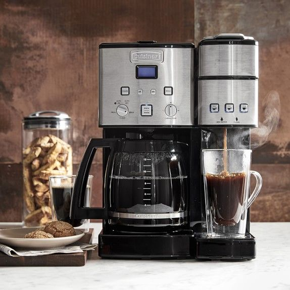 Cuisinart Coffee Center And Single Serve Brewer With Glass Carafe Dual Coffee Maker Coffee Maker Coffee