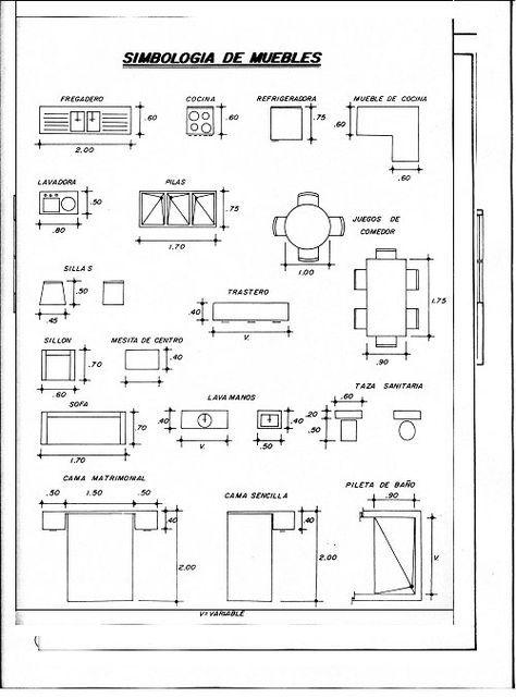 Medidas de muebles para planos arquitectonicos frida for Software planos arquitectonicos