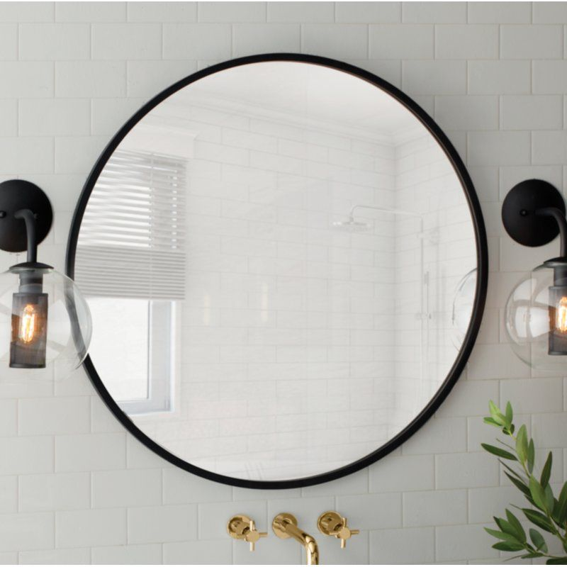 15 Best Round Mirrors Accent Mirrors Round Mirror Bathroom Circular Mirror