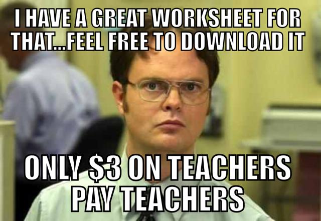 I HATE Teachers Pay Teachers!!! It is selfishness masquerading as helpfulness.