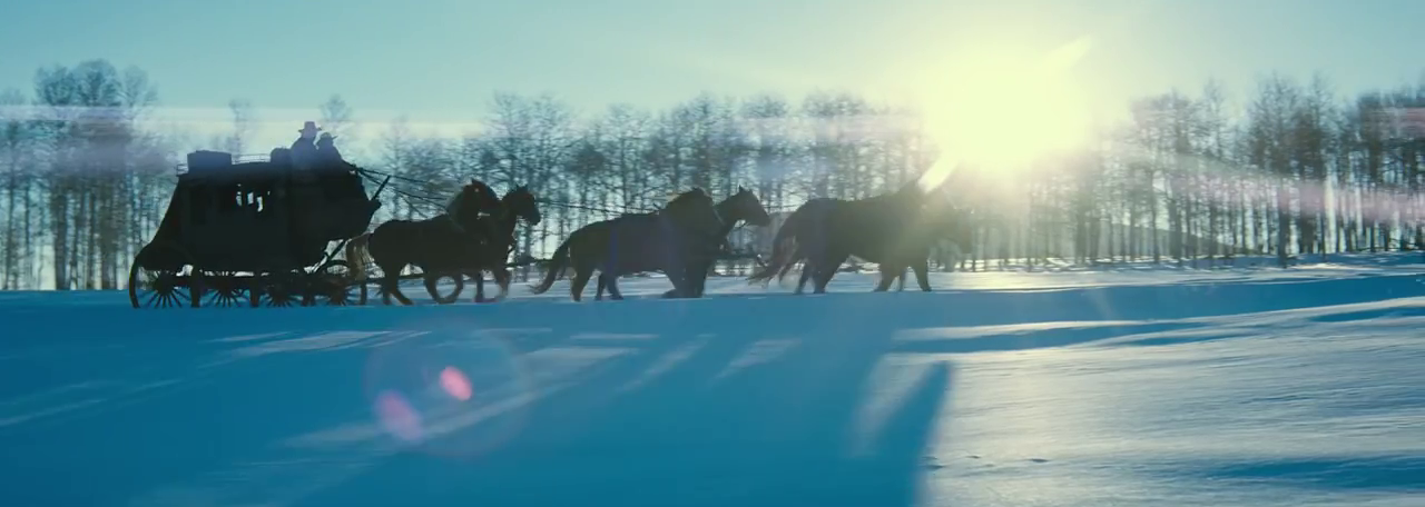 The Hateful Eight (2015, Quentin Tarantino) Photography by Robert Richardson