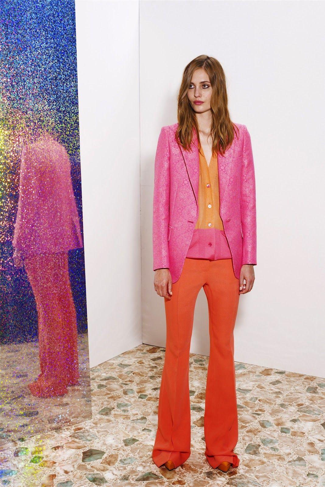 Stella McCartney, color block