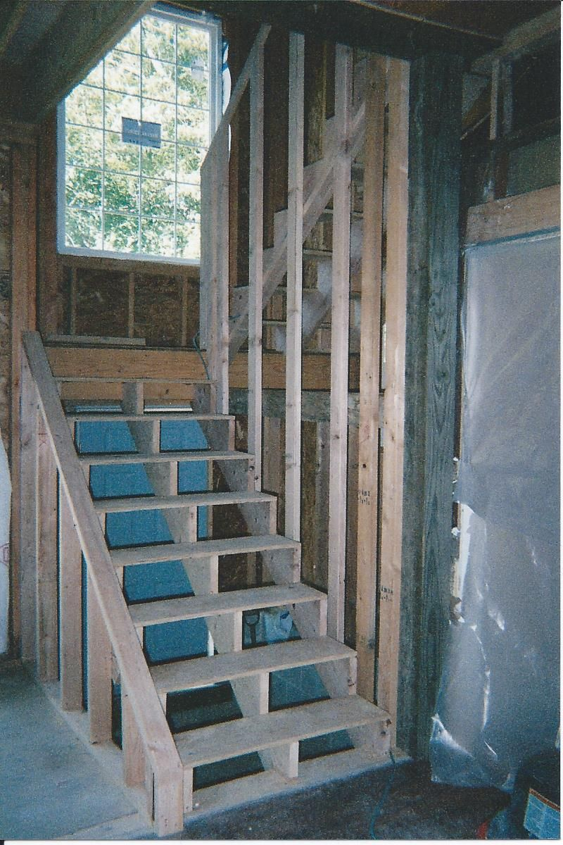 Second Floor Addition Stairway … In 2019 Second Floor | Adding Stairs To Basement