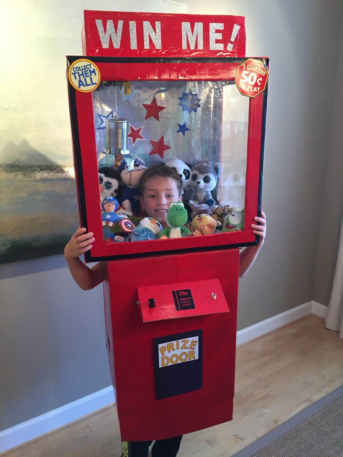 #HowTo build a working Claw Machine Halloween Costume