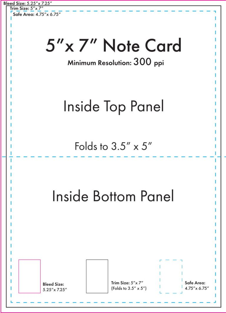 5 X 7 Note Card Template U S Press Intended For 3 By 5 Index Card Template Professional Template