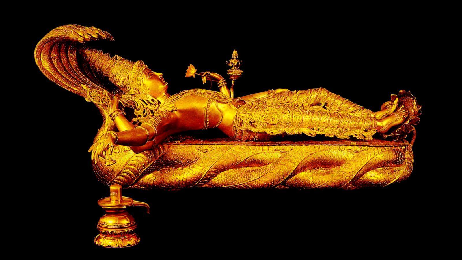 Vishnu Mantra for a Good Night Sleep: