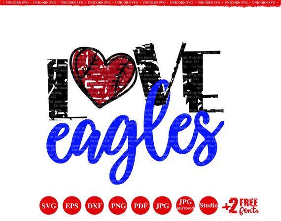 Download Love eagles svg Iron on transfer Baseball svg Eagles ...