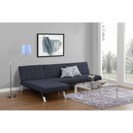 Emily Futon Chaise Lounger Multiple Colors Walmart Com
