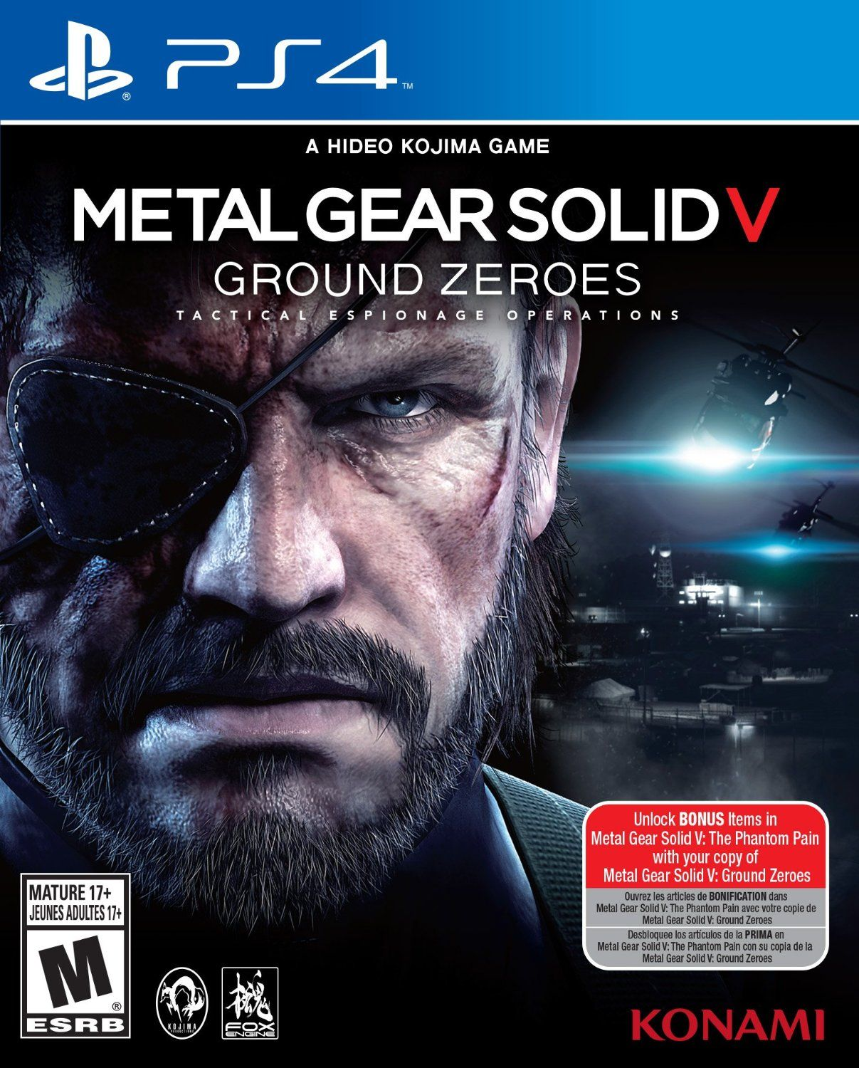 Metal Gear Solid V: Ground Zeroes for Xbox One or PS4 (Used