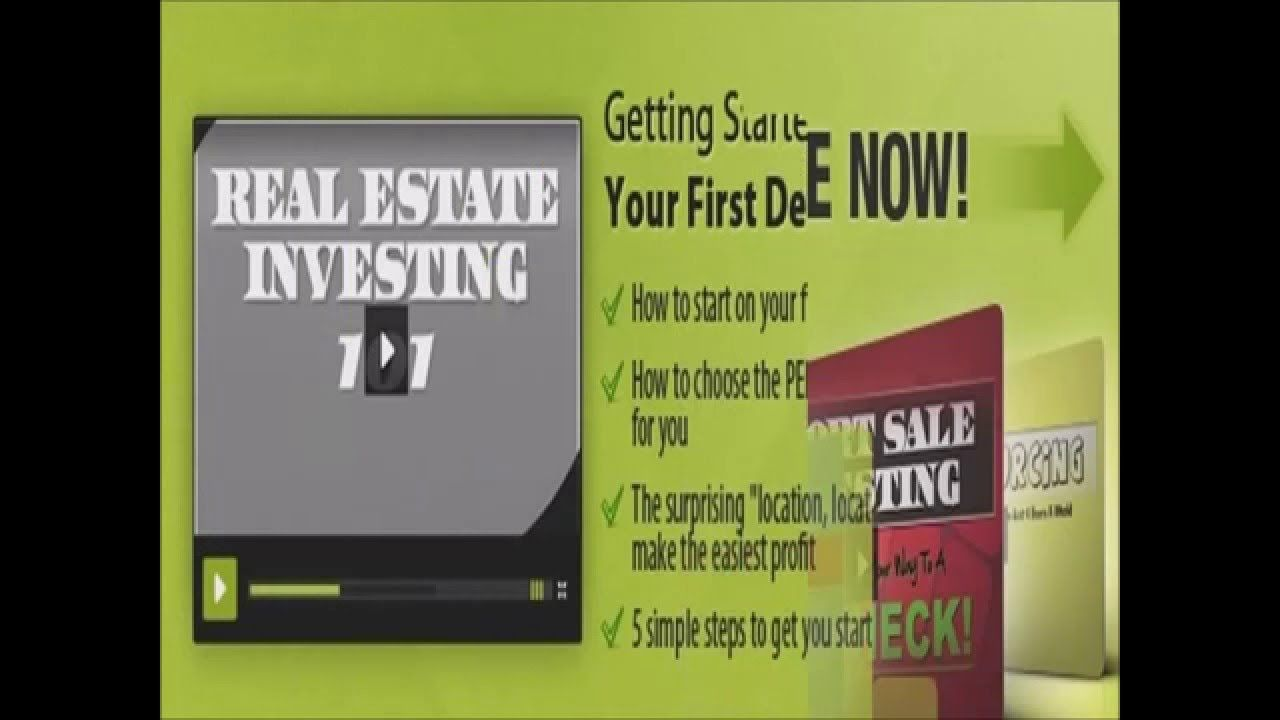 Free real estate course online investing training course