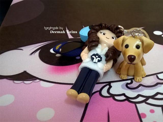 Deemak Twins: Bá and her Dog ♥