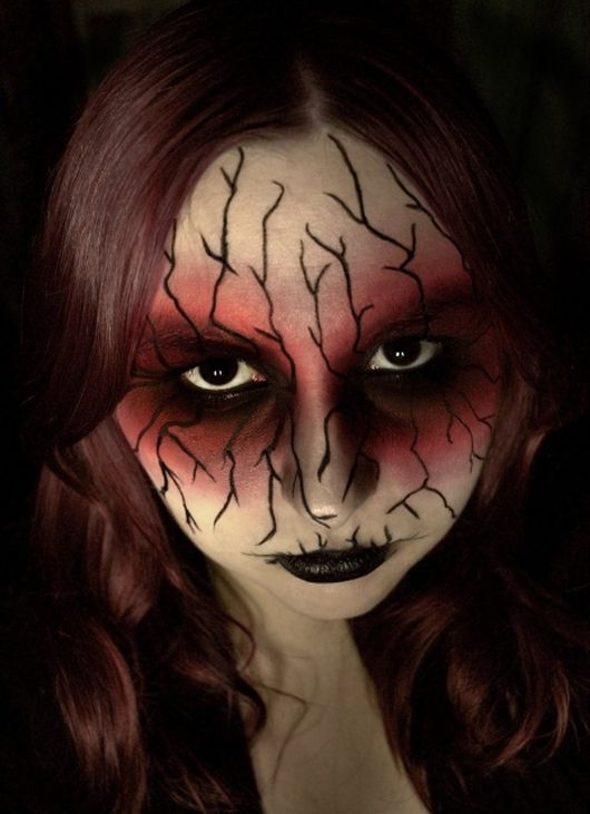 Easy Zombie Makeup For Halloween photo - 1 Ideas ~CostumesMakeUp - terrifying halloween costume ideas
