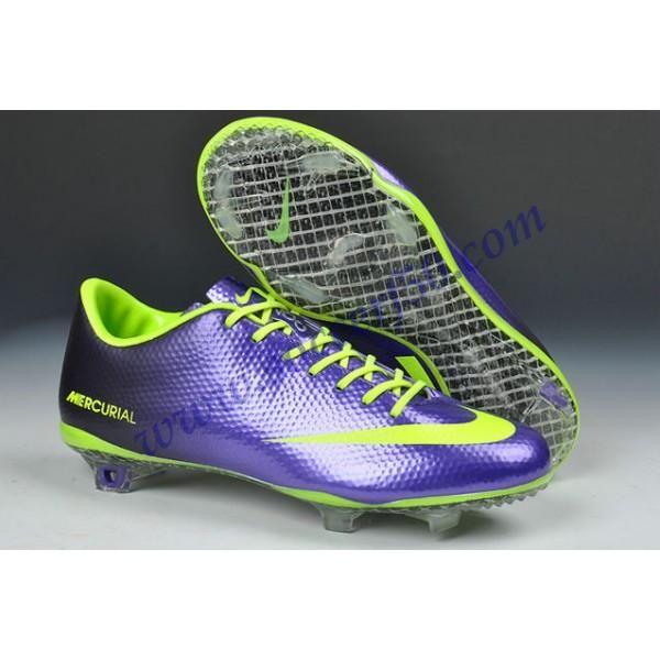 Wholesale Discount Cristiano Ronaldo Nike Mercurial 9 FG - Nike Mercurial  Vapor IX FG Deep Purple Green Soccer Shoes For Sale