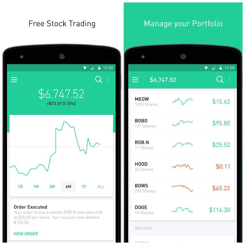 5 can'tmiss apps Barmark, Wildcard, Robinhood and more