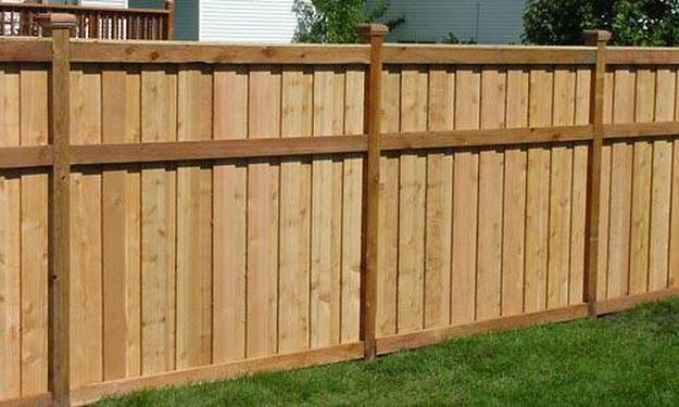 Wood Fence Designs Architectural Design Yard Wood