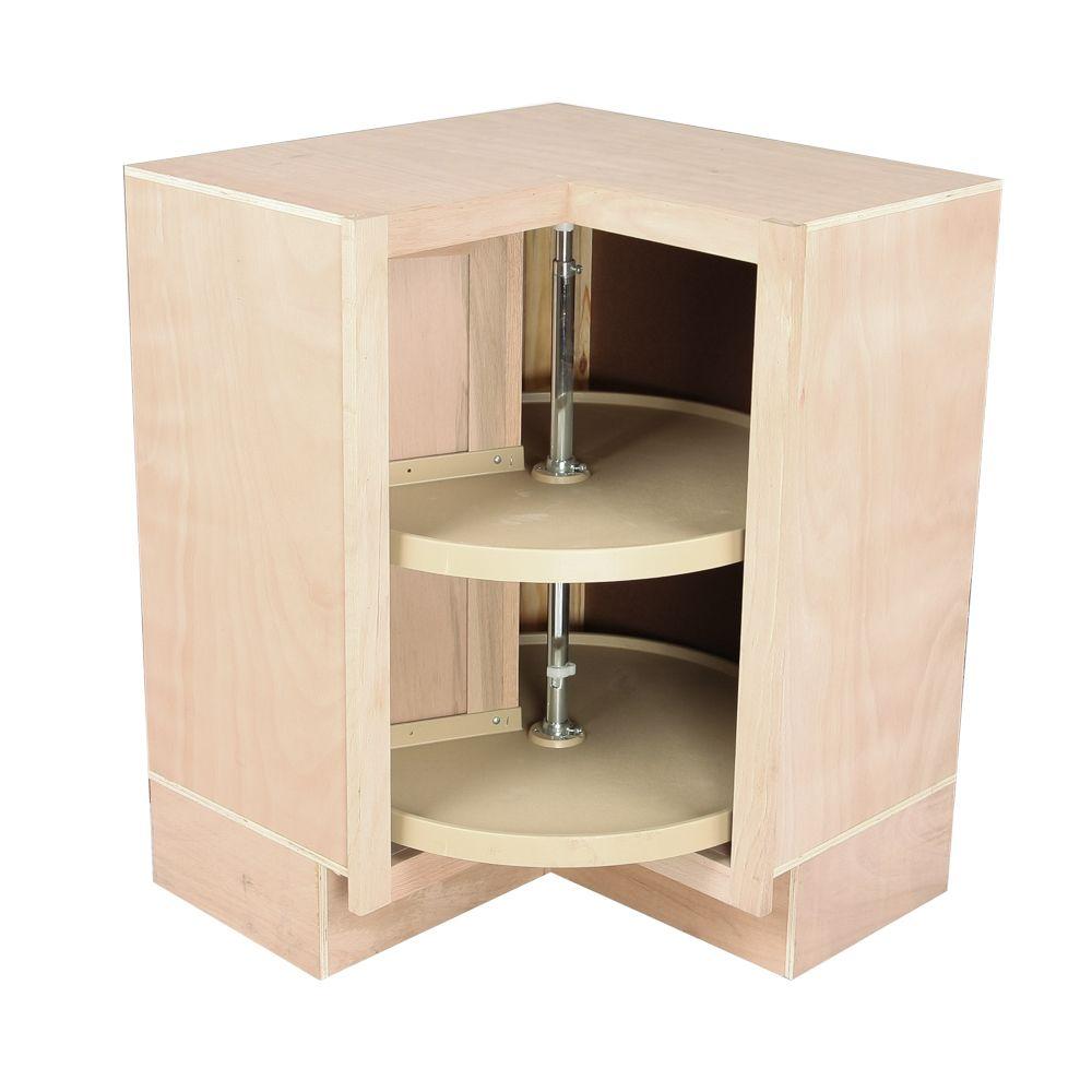 Best Kitchen Corner Base Cabinet W Lazy Susan Unfinished 400 x 300