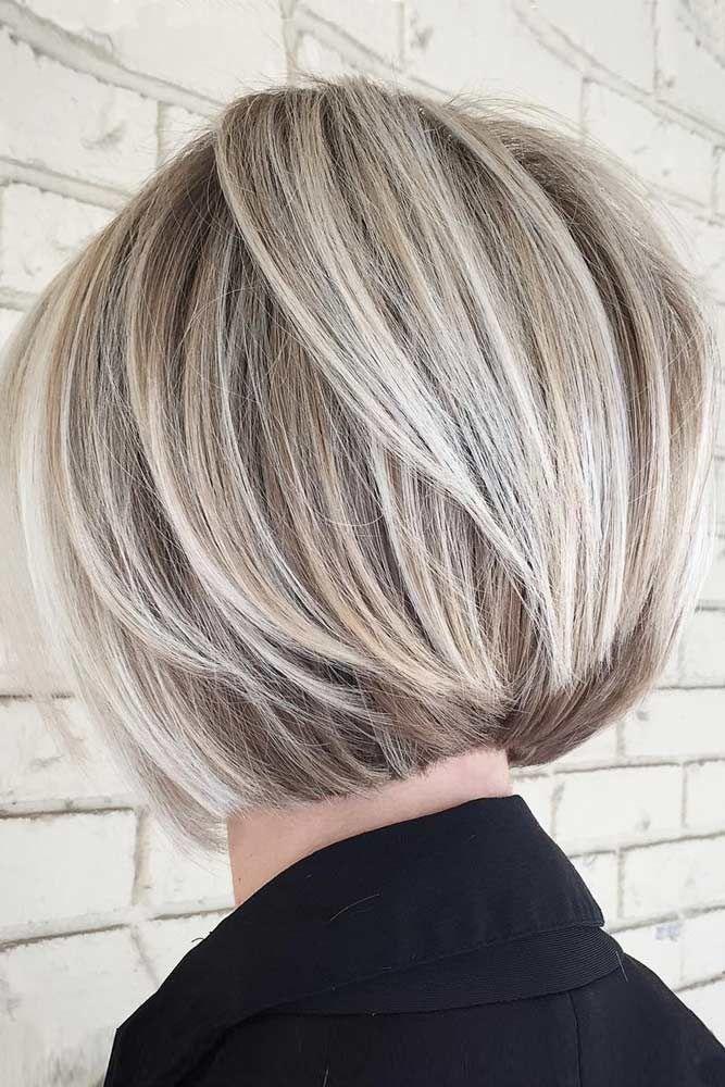 p>Die ideale Länge der Haare für ein rundes Gesicht ist eine kurze ...