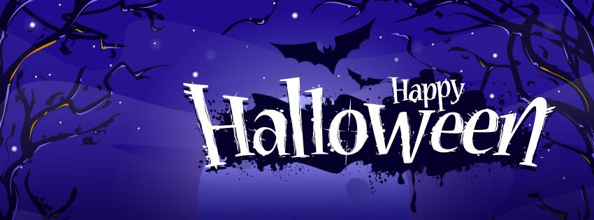 happy halloween scary holiday celebrations pinterest happy halloween and halloween quotes - Halloween Facebook Banners