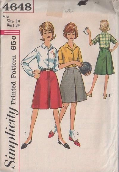 MOMSPatterns Vintage Sewing Patterns - Simplicity 4648 Vintage 60\'s ...