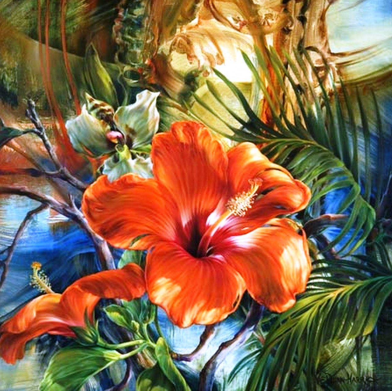 Orquideas al oleo buscar con google flores al oleo - Pinturas acrilicas modernas ...