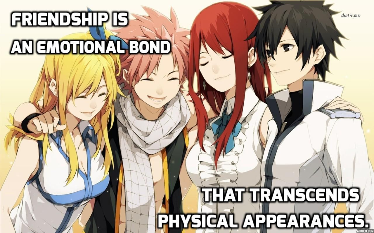 Anime Quotes About Friendship Impressive Anime Quote 271Animequotes.deviantart On Deviantart