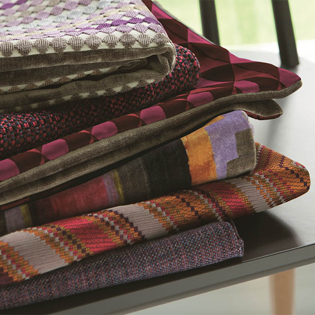 Warwick Fabrics: KALEIDOSCOPE Upholstery, Upholstery