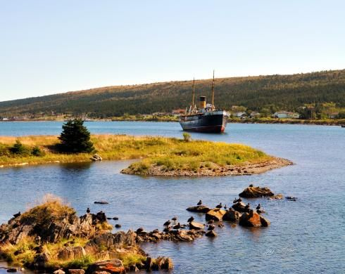 The Ship's Menu - SS Kyle at Harbour Grace, Newfoundland Photography by Stone Island Photography