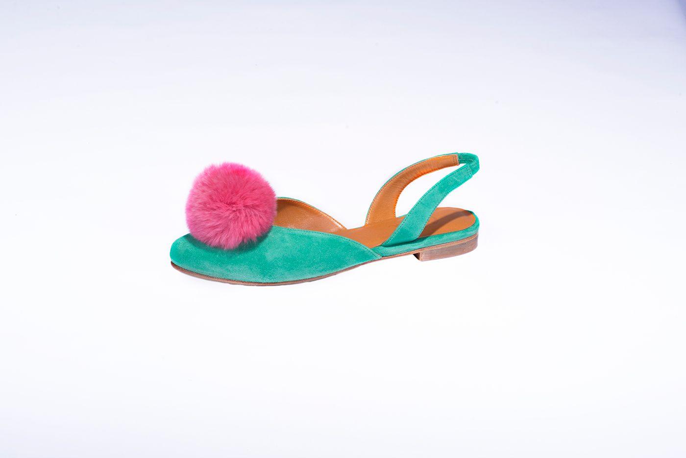 Sandalias de la colección de verano modelo Hortensia, Antia