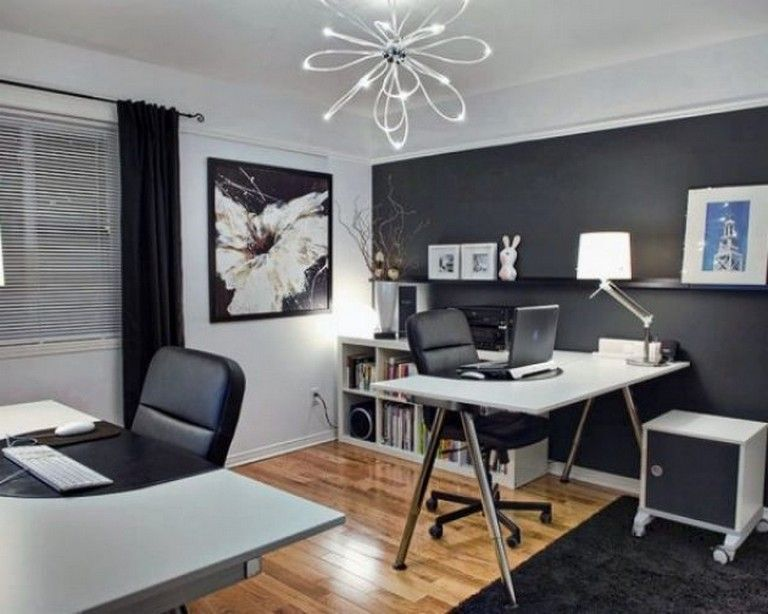 20 Home Office Ideas Modern Style And Comfortable Pandriva Home Office Colors Home Office Design Best Office Colors