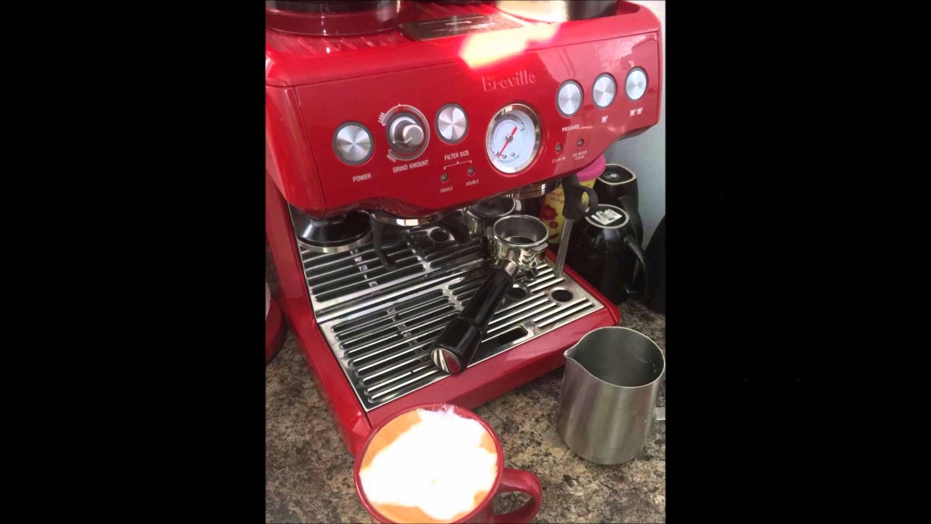 Breville Bes870xl Barista Express Espresso Machine Review Breville Espresso Machine Espresso Machine Reviews Espresso