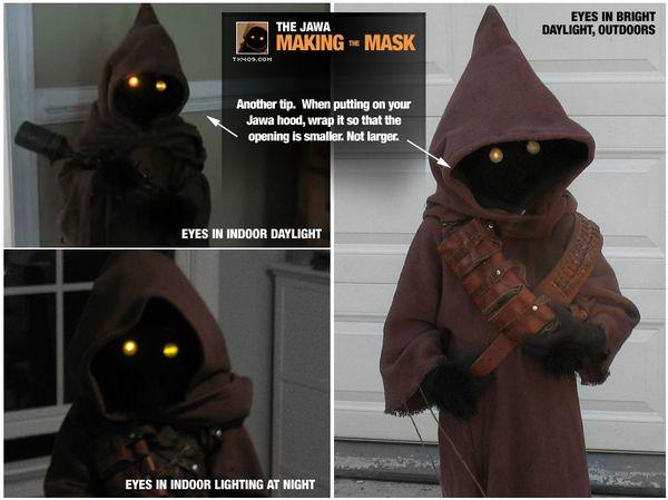 How to Make Your Own Jawa Costume   Star wars kostüme, Kostüm und ...