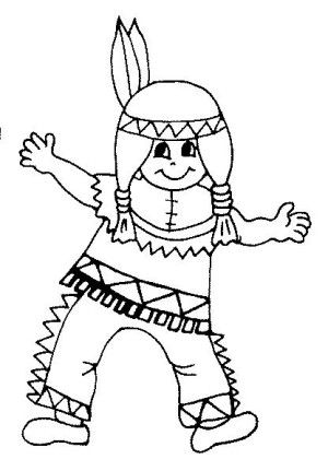 Indians Coloring Page 22 Ausmalbilder Kinder Ausmalbilder Indianer Bilder