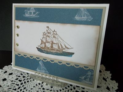 The Open Sea (TSC0810) by ~CA~ - Cards and Paper Crafts at Splitcoaststampers