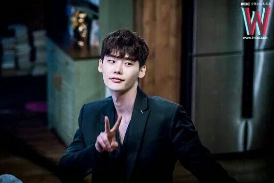 Lee Jong Suk - W Two Worlds