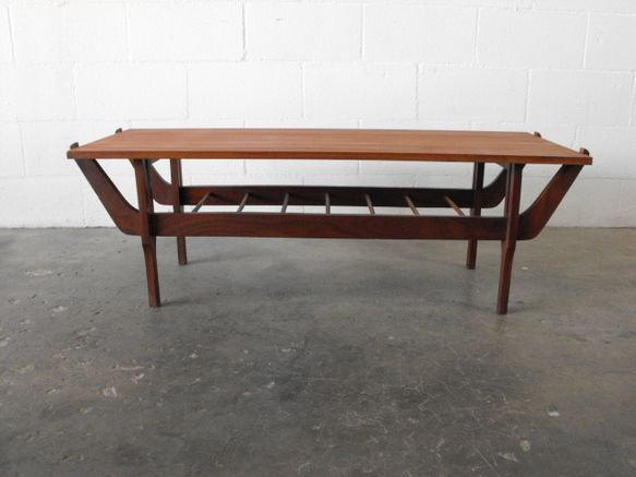 Japanese STyle MidCentury Teak Coffee Table HOME Tables
