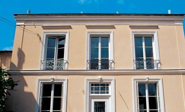 Rénover sa façade avec de lu0027enduit à la chaux Facades