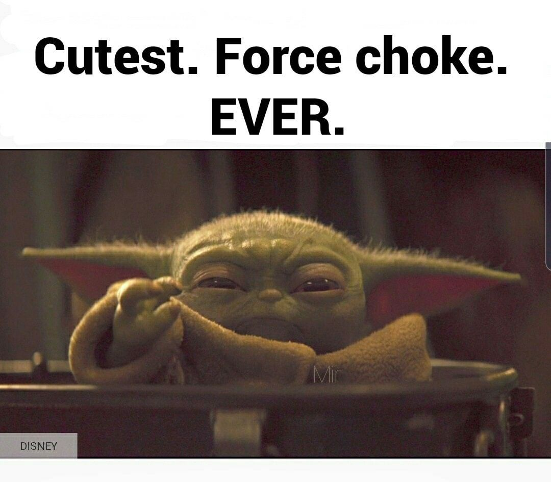 Pin By Holly Frances On Baby Yoda The Mandalorian Funny Star Wars Memes Star Wars Yoda Star Wars Humor