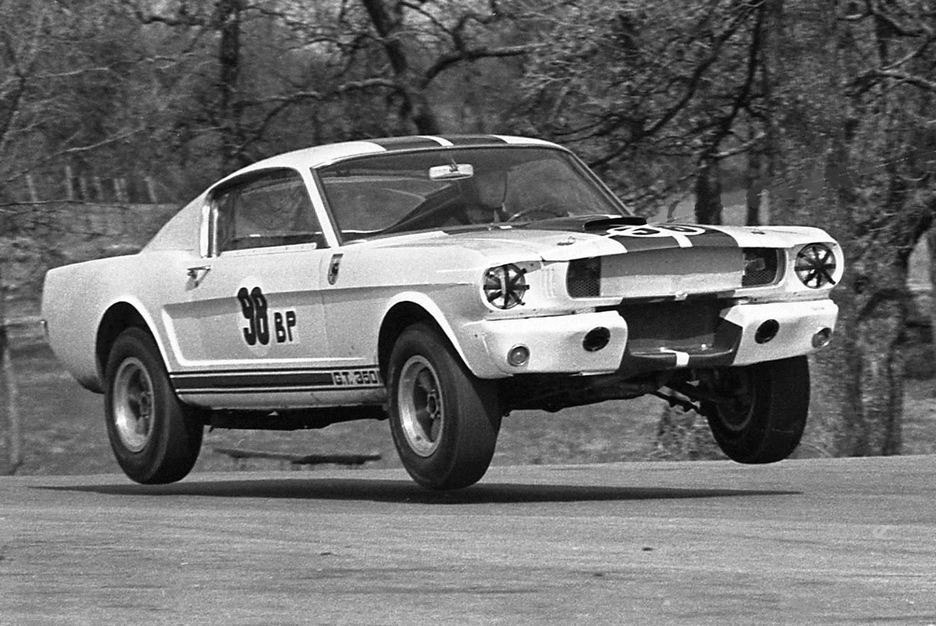 This Iconic Photo Of Ken Miles Catching Air Under All 4 Tires Was