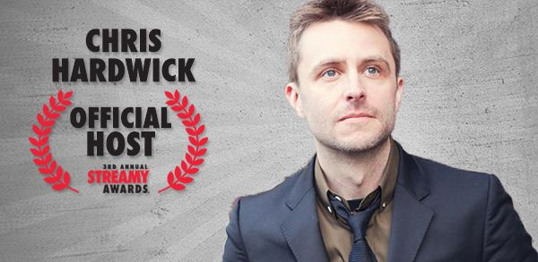 The Streamy Award brings the funny this year with Chris Hardwick as host!