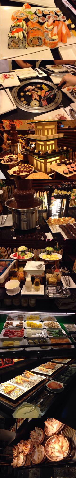 Sambo Kojin Japanese Buffet must try!!