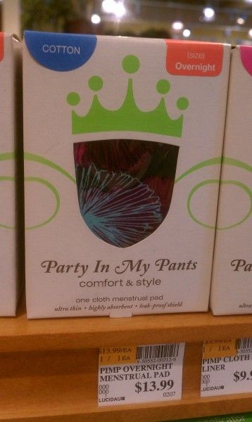Party In My Pants- awesome stuff