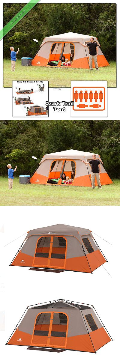 Tent and Canopy Accessories 36120 Ozark Trail Instant Cabin Tent 13X9 Outdoor Family C&ing Tents & Tent and Canopy Accessories 36120: Ozark Trail Instant Cabin Tent ...