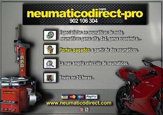 Si eres #profesional del sector del #automovil encuentra todo lo que necesitas en www.neumaticodirect-pro.com, solicite el acceso y descubra todos nuestros productos #neumaticos #accesorios #lubricantes #recambios