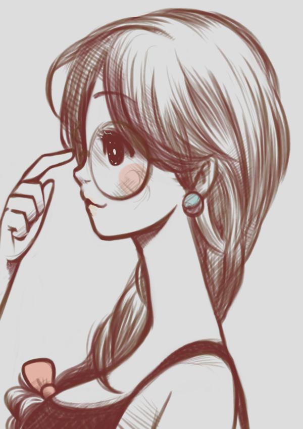 Drawings Of Geek And Nerd Cute Nerd Drawings Art Drawings Sketches