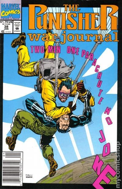 Punisher War Journal (1988 1st Series) 38 Marvel Comics Modern Age Comic book covers